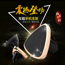 High Quality Triangle Air Vent Magnetic Car Mount Holder Stand for Phone GPS UF