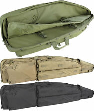 "Condor Sniper Drag Bag 52"" Double Rifle Case QD Buckles Padded Divider 3 Pockets"