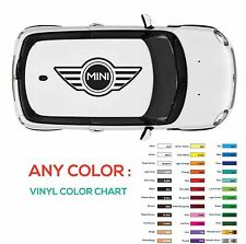 1X WINGS MINI COOPER Vinyl Roof Decals Graphic S JCW DIE CUT STICKERS DECAL NEW
