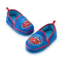 Disney Store Authentic Cars Lightning McQueen Slippers for Boys