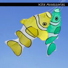 New Cute Fish Windsock Single Line Kite tail Spiral Backyard Gardon Decoration