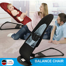 Newborn Support Toddler's Rocking Balance Chair Baby Bouncer Soft  Mesh Cotton