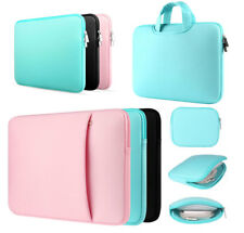 """Neoprene Soft Laptop Sleeve 11""""13""""14""""15""""15.6"""" PC Case Protect Bag For Macbook HP"""