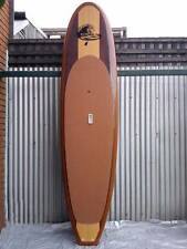 SUP PADDLE BOARD Wooden Finish Billy Budd Stand Up Paddle Board - Brand New