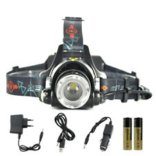 5000LM XML T6 LED Rechargeable Headlamp 3 Mode Zoomable Headlight 18650/AA Torch