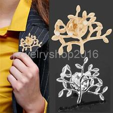 Fashion Women Brooch Pin Christmas Tree Branch Gifts Party Jewelry Wedding