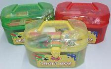 Create & Play Craft Box-An Assortment of Fun & Colourful Crafts-3 Colours - 3 +