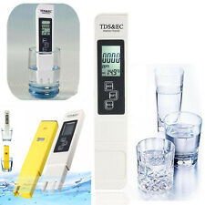 Digital LCD PH Meter TDS EC Water Purity PPM Filter Hydroponic Pool Tester Pens