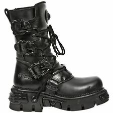 New Rock Oxido M 391 Gothic Black Mens Boots