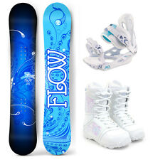 2017 FLOW Star 144cm Women's Snowboard+M3 Bindings+M3 Boots NEW