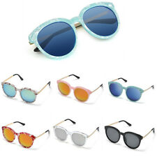 Fashion New Womens Retro Vintage Shades Oversized Round Frame Sunglasses Eyewear