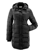 Quilted maternity coat - Bellybutton warm maternity coat - Black - 40 or 42