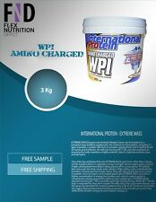 INTERNATIONAL PROTEIN AMINO CHARGED WPI 3kg | WHEY PROTEIN ISOLATE