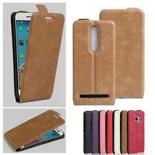 2016 New Ultra Slim PU Leather Flip Case Phone Cover For ASUS Models