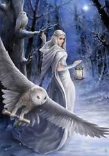 MIDNIGHT MESSENGER -  ANNE STOKES YULE GREETING CARDS