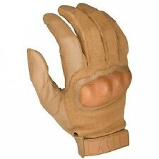 HWI Gear HKTG300G Hard Knuckle Tactical Goatskin Glove, Coyote. Free Delivery