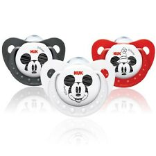 NUK Disney Mickey Mouse Silicone Soothers