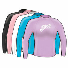 Adrenalin Ladies Rash Vest Lycra Long Sleeve