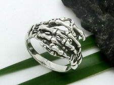skeleton Hand 925 Silver Ring skull skeleton