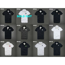 NWT ABERCROMBIE & FITCH MENS CASUAL POLO SHIRTS SIZE L,XL,XXL A&F