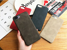 Luxury Ultra-thin PU Leather Back Skin Case Cover For Apple iPhone 7 6 6S 7 Plus