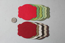 Stampin' Up Christmas/Holiday Framelit Deco Die Cuts 12 *You Choose the Colors