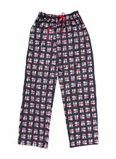 BLACK OFFICIALLY LICENSED I LOVE NY HEART NEW YORK LOUNGE PAJAMA PANTS UNISEX