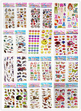 Teacher Reward Stickers 3D Puffy Scrapbook Kids Party Favors Crafts stickers lot