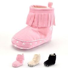 Newborn Baby Boots 0 - 18 Months Girl Winter Place Snow Boots Warm Booties