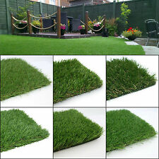 SAMPLES of Artificial Grass Astro Turf Realistic Natural Looking Garden Lawn