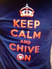 the Chive *Authentic* Virginia Keep Calm Chive Nation Mens t-shirt M L