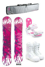Lamar Belle 148 Womens Snowboard+M3 Bindings+M3 Boots +PADDED BAG - NEW