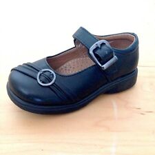 NEW Toddler Girls Black Faux Leather Buckle Dress School Shoes Mary Jane size 5