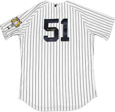Steiner Bernie Williams Signed Majestic Authentic Jersey with Retirement Patch
