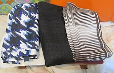 NWT Banana Republic 100% Silk Scarf Variation Choose from 3