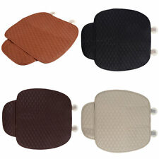 Car Front Seat Cushion Universal Pad Comfort Soft Free Tied Seat Covers F5