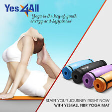 Yes4All Premium Durable Extra Thick Yoga Mat High Density Exercise  - Strap