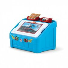 Step2 Thomas the Tank 2-in-1 Art Toy Box. Brand New