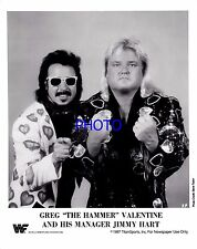 Greg Valentine Jimmy Hart WWF WWE Wrestling Promo print picture photo 001