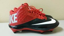 Nike Lunar Code Pro D Football Cleats Red/Black 579668-006 Sz 9, 10.5-11