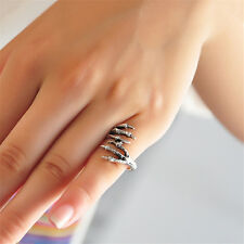Punk Style Talon Opening Ring Pinkie Finger Ring Women Ladies Jewelry