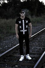 RARE CROSS BLVCK BLACK Scale Scvle Element PYREX VISION SATAN YEEZUS SHIRT NEW