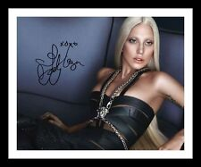 LADY GAGA AUTOGRAPHED SIGNED & FRAMED PP POSTER PHOTO 1