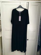 Black ASOS Maternity Dress Size 14/16 Brand New