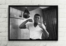 Muhammad Ali Gym Boxing Champion Poster High Quality Poster Print Art A1, A2 A3+