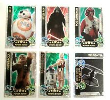 STAR WARS FORCE ATTAX FORCE AWAKENS LIMITED EDITION REY,BB-8,R2-D2,KYLO REN ETC