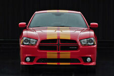 """10"""" Plain Rally stripes Stripe Graphics Fit all Year & Model 02-13 Dodge Charger"""