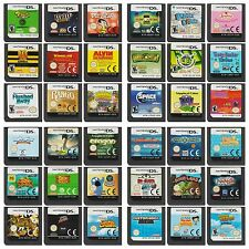 Multi✿ Nintendo DS All Models ●● ACTION / ADVENTURE GAMES Rated G & PG ●● +28/09