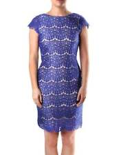 FRENCH NAVY CANDICE  LACE DRESS BY DARLING WAS £75 NEW SIZE XS,S,L
