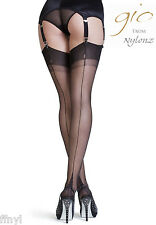 Gio Fully Fashioned Stockings - POINT Heel - PERFECTS / All Colours & Sizes